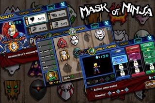 Screenshots of the Mask Of Ninja for Android tablet, phone.