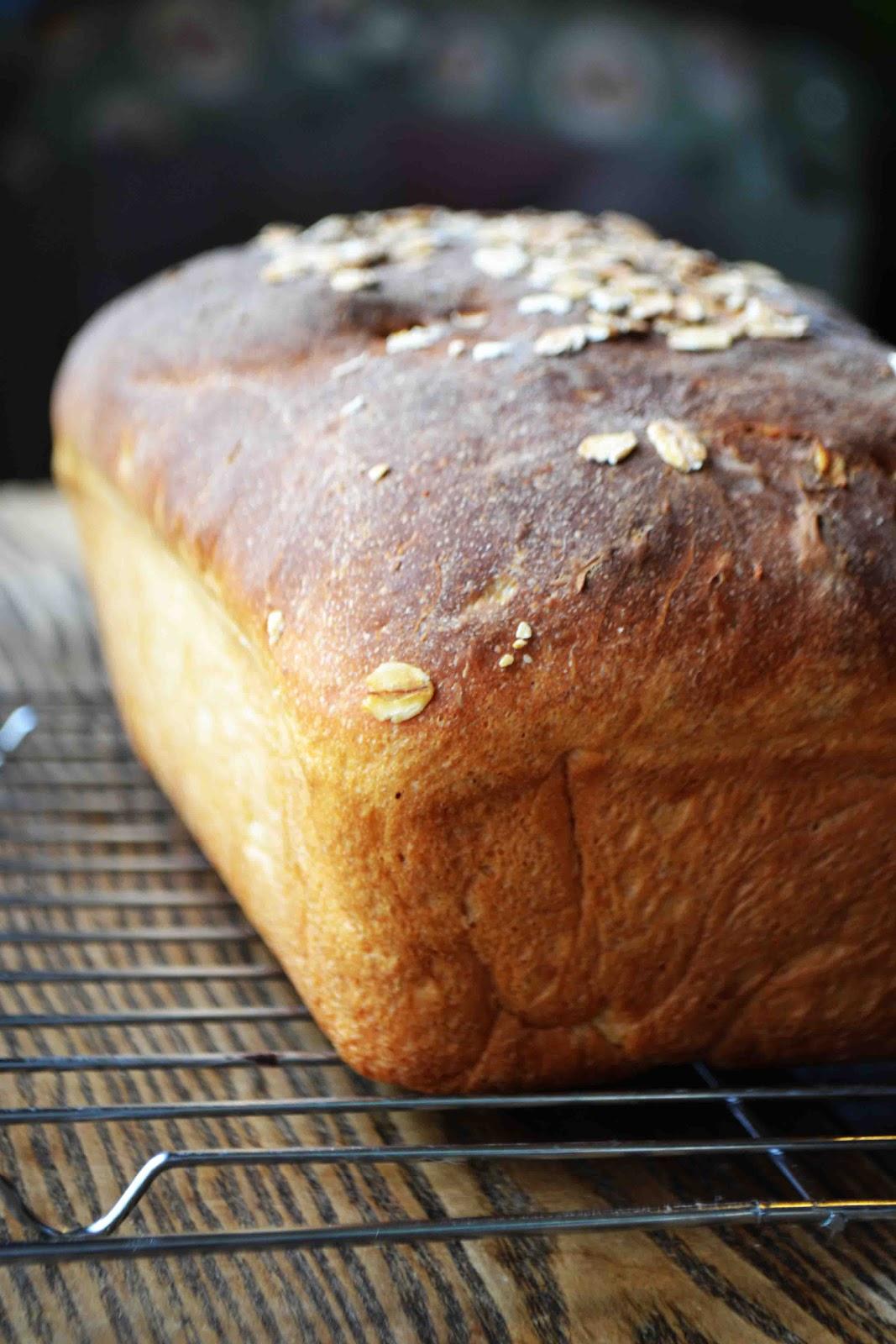 Maple Oat Bread Recipe — Dishmaps