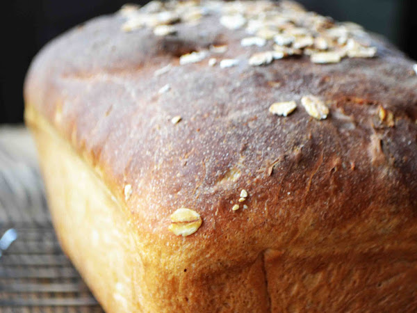 No Knead Maple Oatmeal Bread or Dinner Rolls with Maple Cinnamon Butter
