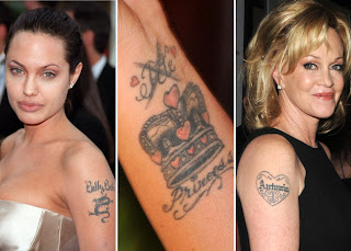 Named Tattoo Celebrity