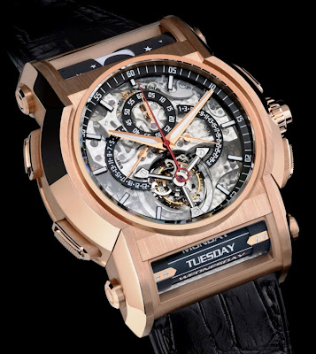 Maitres du Temps, A Journey Through Time VII, Starhill Gallery, luxury watches, Chapter One Round Transparence, Chapter One Tonneau Transparance, Maitres du Temps Chapter One Round Transparence