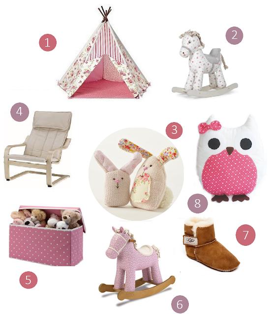 Amelia's 1st Birthday Gift Ideas - Oh So Amelia