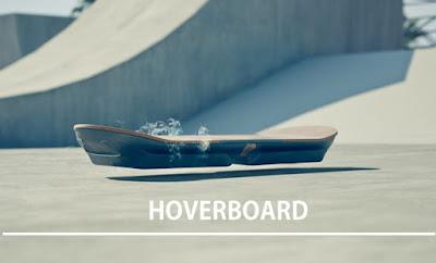 Hoverboard!!- Pengganti Skateboard