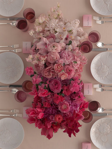 Love the use of carnations instead of roses. Its a sweet easy diy ...