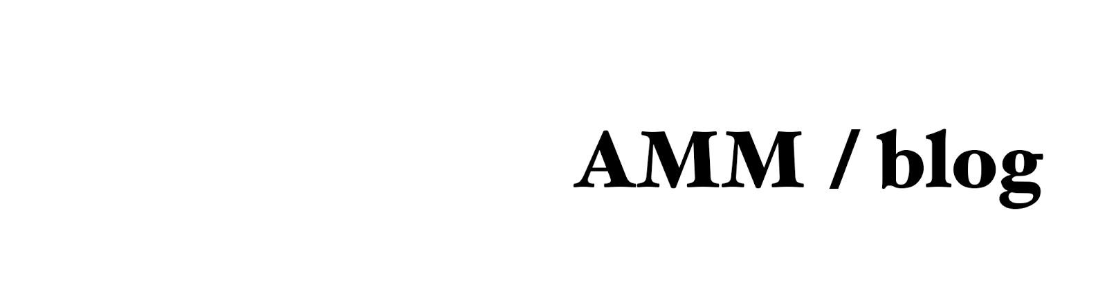 AMM blog
