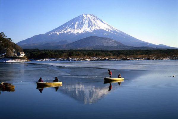 Fujigoko ,Lago Shojiko (weibo.com)