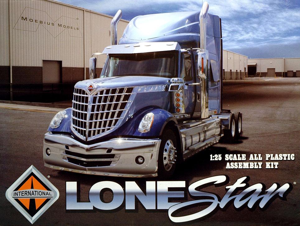 1 25 Scale International Lonestar Truck Kit From Moebius