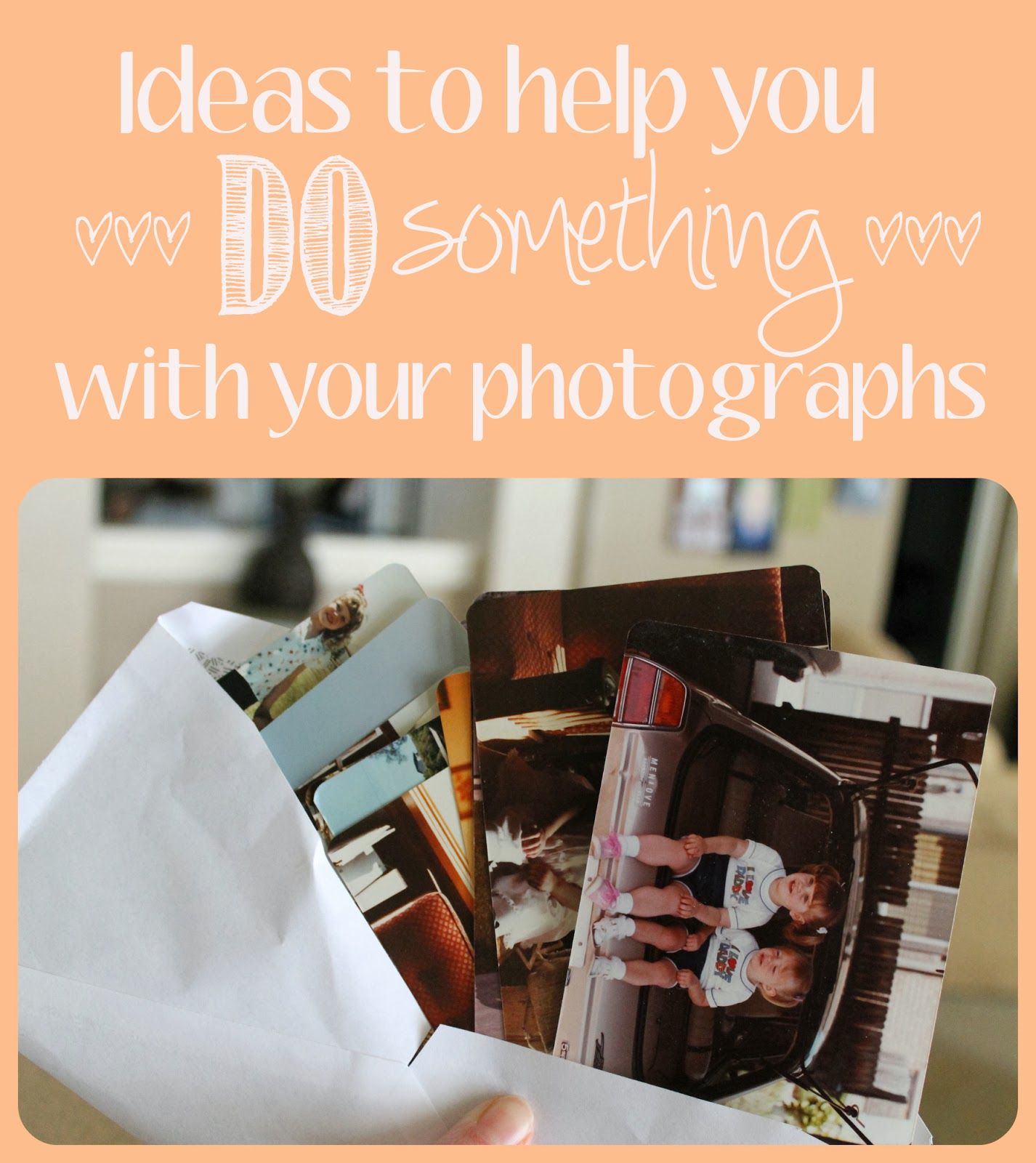 ideas for photos albums, preserving memories, what to do with photos, scrapbooking