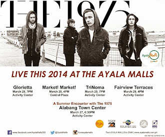 The 1975 Live at the Ayala Malls
