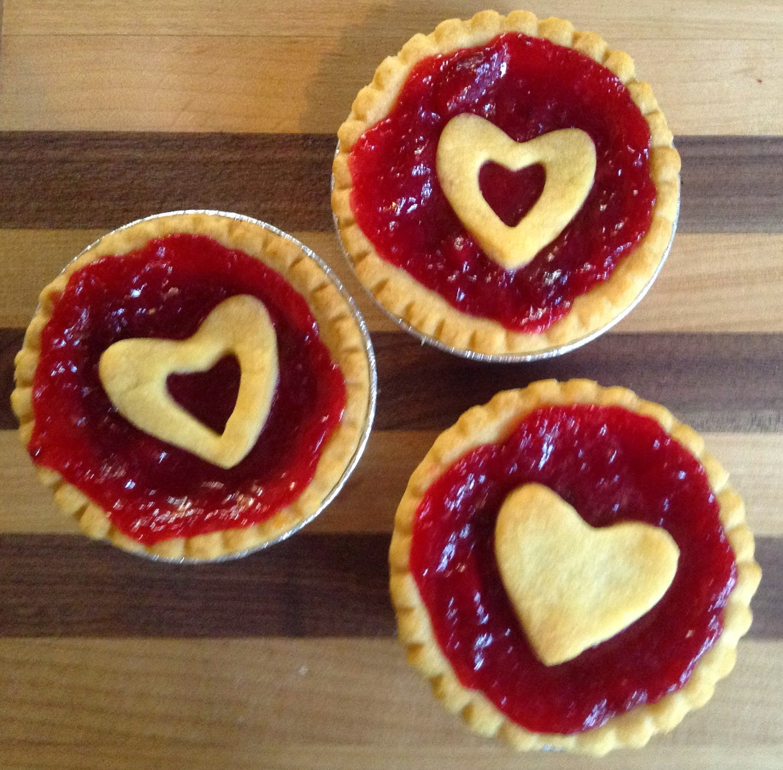 Cranberry Tarts for Thanksgiving