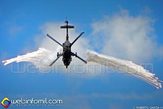 Helicóptero AH-60 Arpía de la Fuerza Aérea Colombiana.