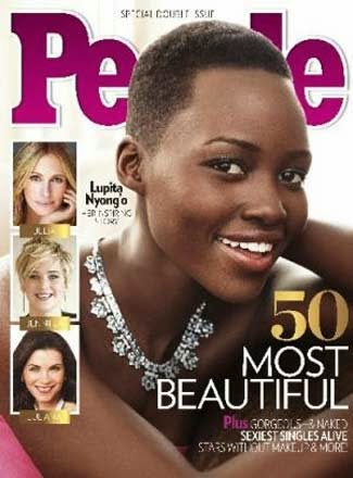 Lupita Nyong'o Revista People