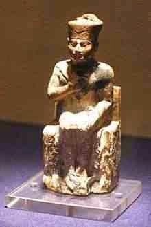 تمثال الملك خوفو