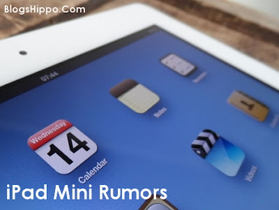 iPad mini Rumors Price Release date