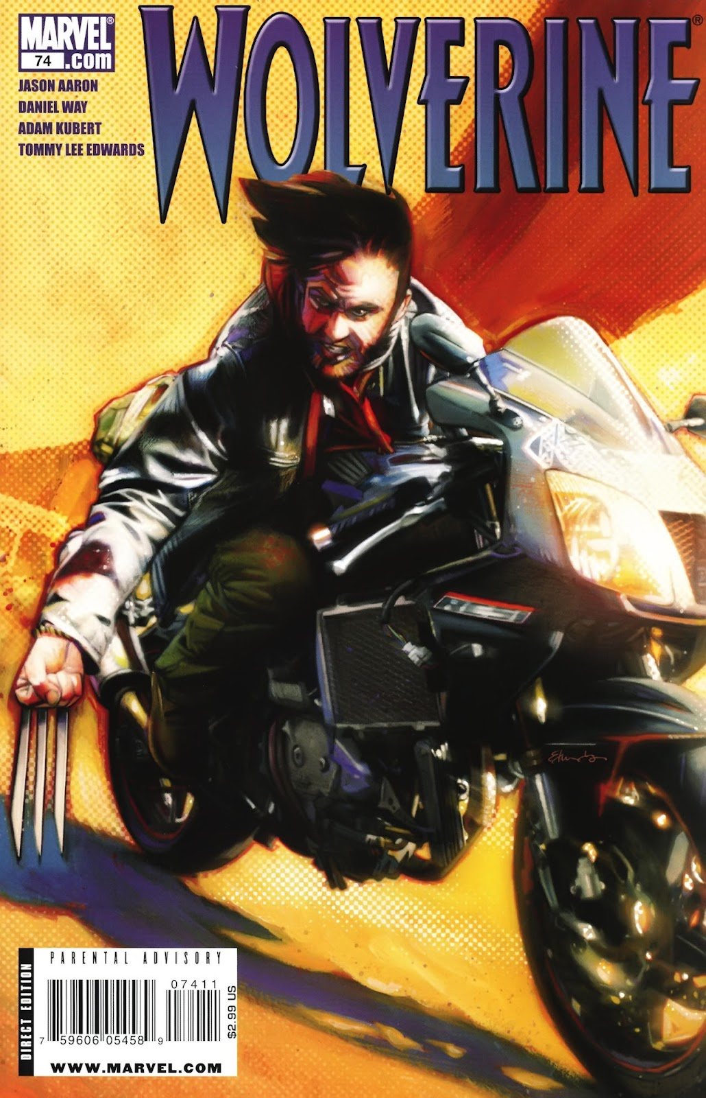 Read online Wolverine (2003) comic -  Issue #74 - 1