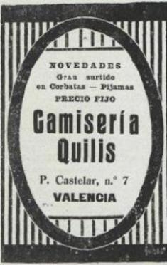 CAMISERÍA QUILIS