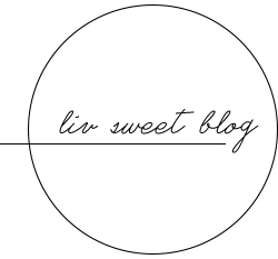 Liv Sweet Blog