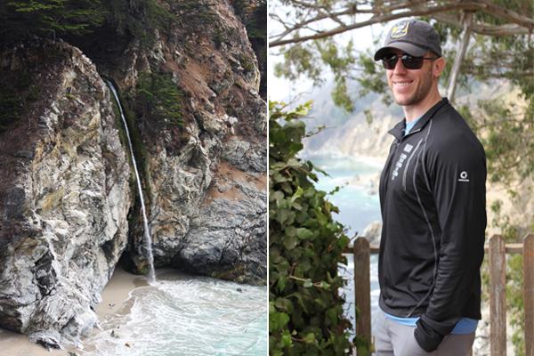 Exploring McWay Falls, Big Sur