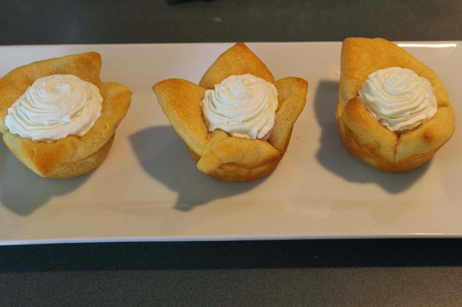 brunch biscuits yogurt whipped cream