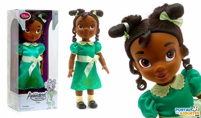 muñeca tiana coleccion disney animators nueva edicion