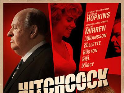 Nuevo cartel retro de Hitchcock con sus protagonistas