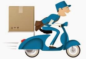 Faktor-faktor yang menentukan lamanya waktu pengiriman barang atau paket.