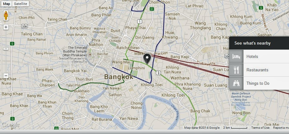 About BTS Bangkok Thailand Airport Map: Kamthieng House Museum Bangkok Locati...