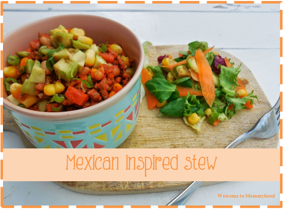 Welcome to Mommyhood: Easy Healthy Recipes - Mexican inspired stew