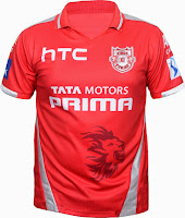 Buy Kings XI Punjab Match Jersey Rs.826 only at Amazon.