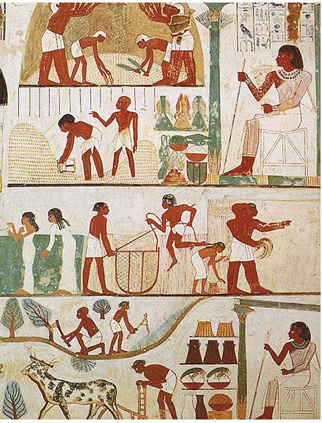Trading system of ancient egypt
