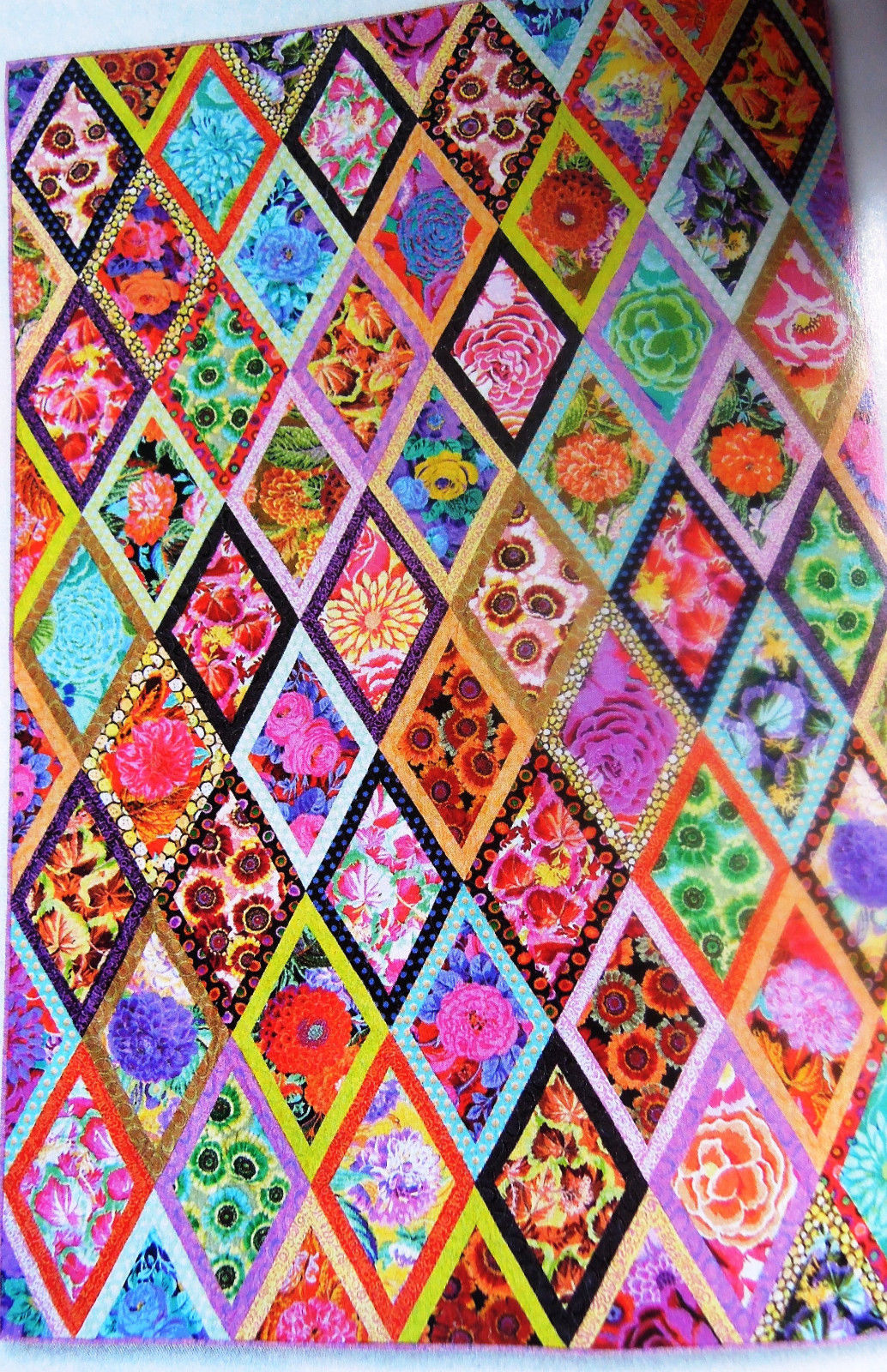 "Only $2.99 ! Kaffe Fassett ""Forever Diamonds"" pattern"