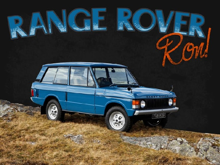 Just the Range Rover Classic ...