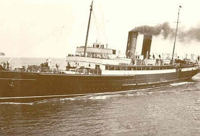 The S.S. Victoria, by which Swami Bon first came to the West in 1934