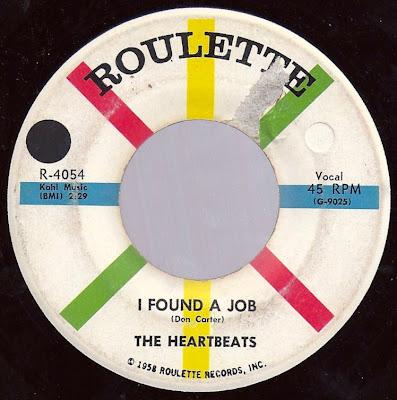 The Heartbeats - I Found A Job - Down On My Knees