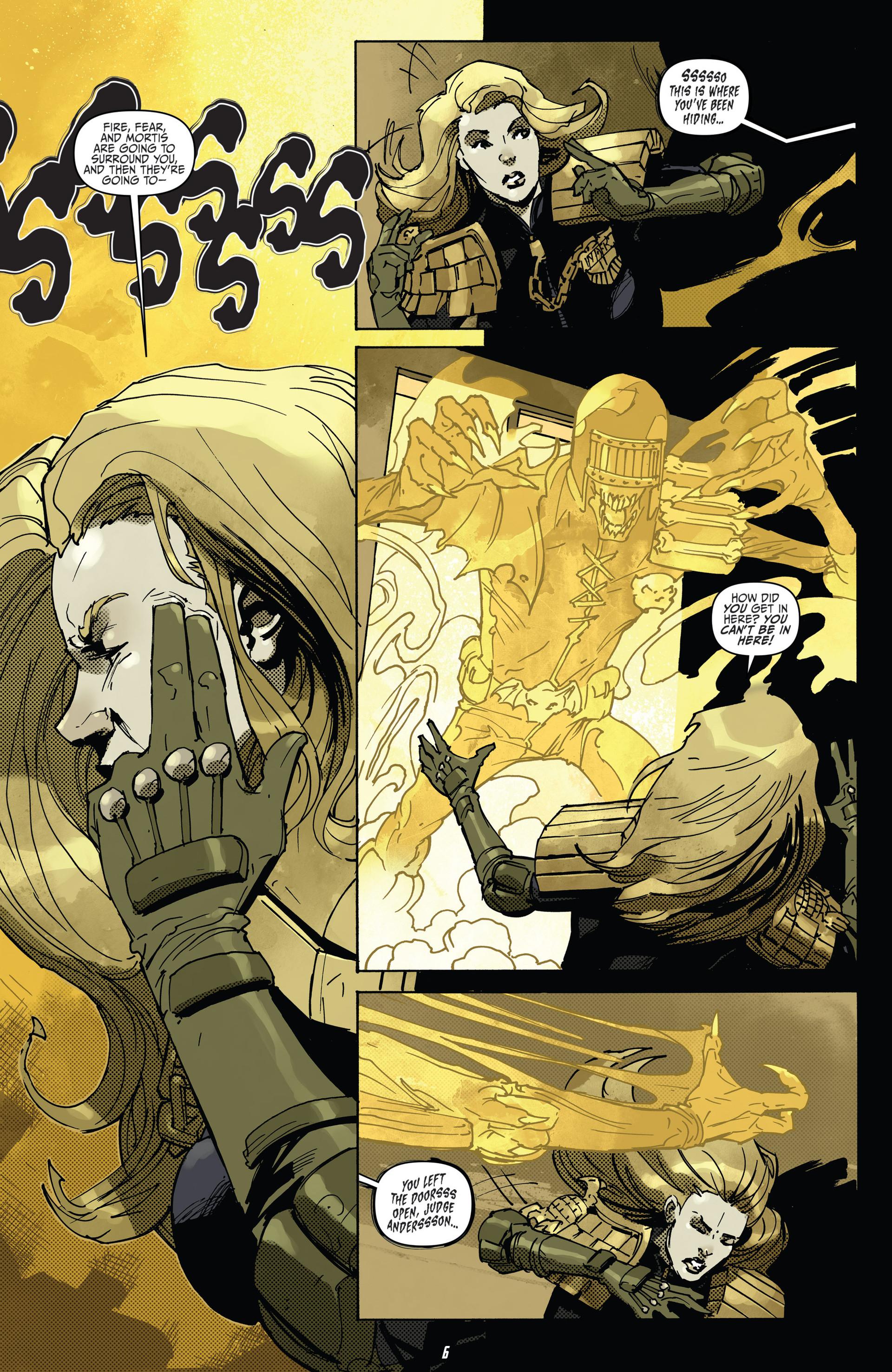 Read online Judge Dredd (2012) comic -  Issue #22 - 8