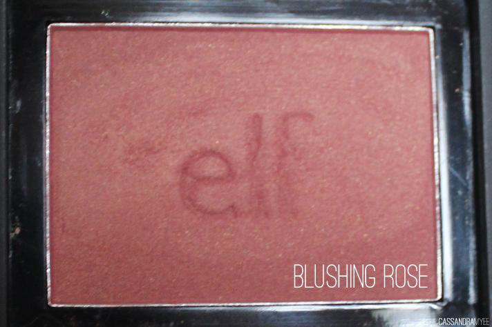 E.L.F. STUDIO // Blush Collection + Swatches - Blushing Rose - cassandramyee