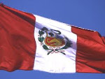 Bandeira e hino nacional do Peru