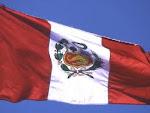 Bandeira e hino nacional do Peru