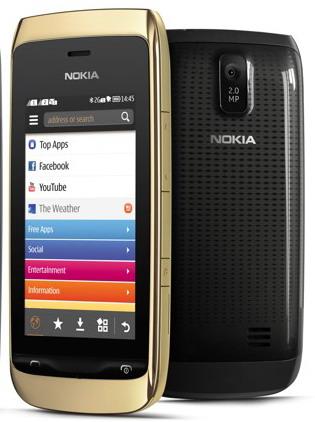 Harga handphone Nokia Asha 308 dual gsm