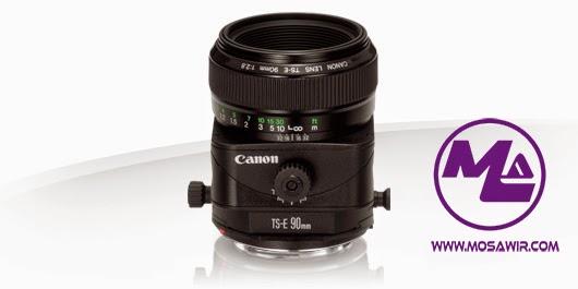 عدسة كانون: TS-E 90mm f/2.8