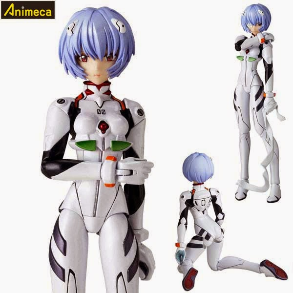 REI AYANAMI Ver.2.0 LR-016 Legacy of Revoltech FIGURE Evangelion 2.0 You Can (Not) Advance KAIYODO