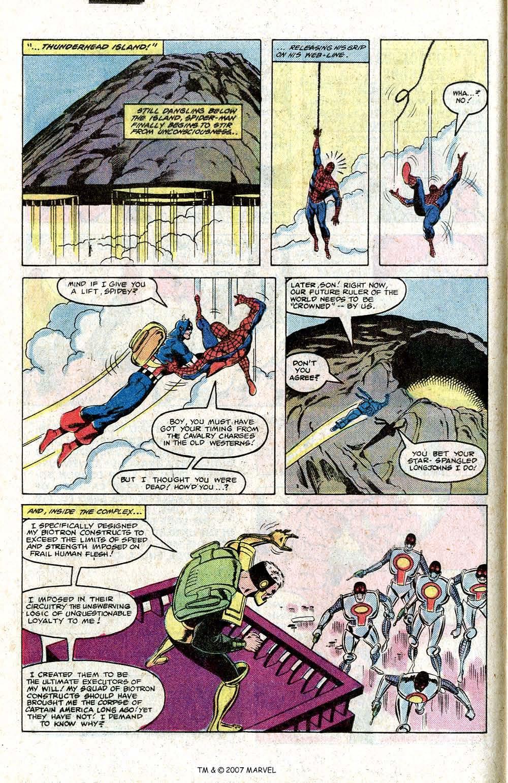 Captain America (1968) Issue #266 #181 - English 16