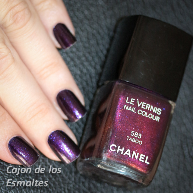 Esmaltes de uñas Chanel - Taboo | Cajon de los esmaltes