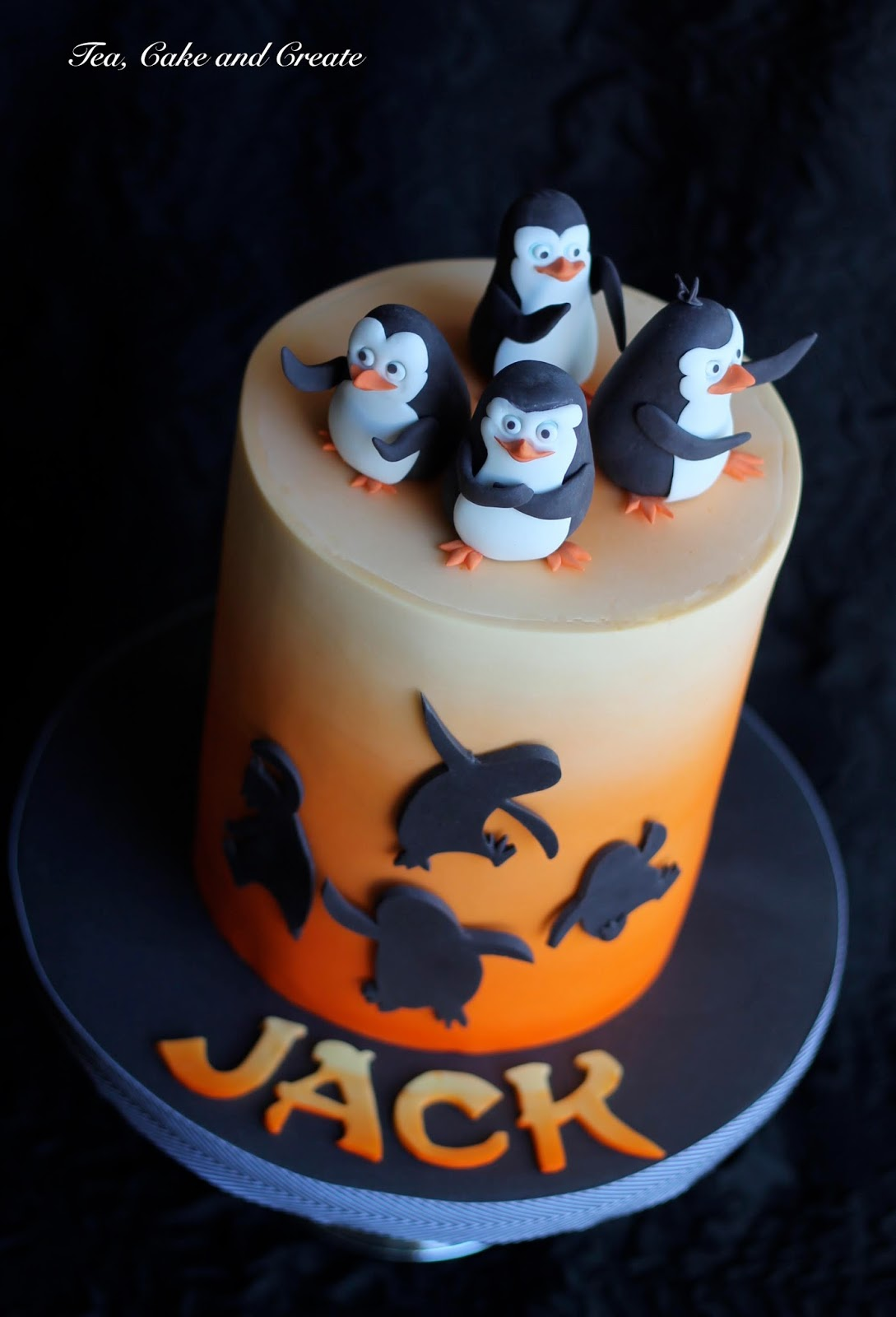 Penguins Of Madagascar Cake Decorating Kit 1 : Tea, Cake & Create: Penguins of Madagascar Birthday Cake