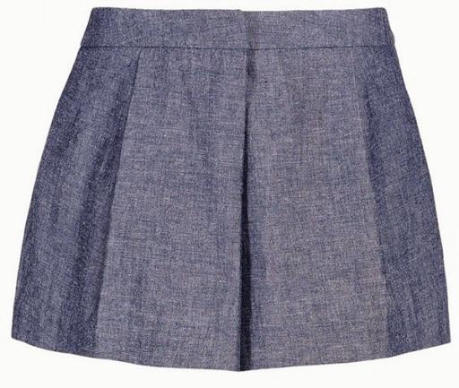 Model celana pendek denim dari Elle Sasson ($221)