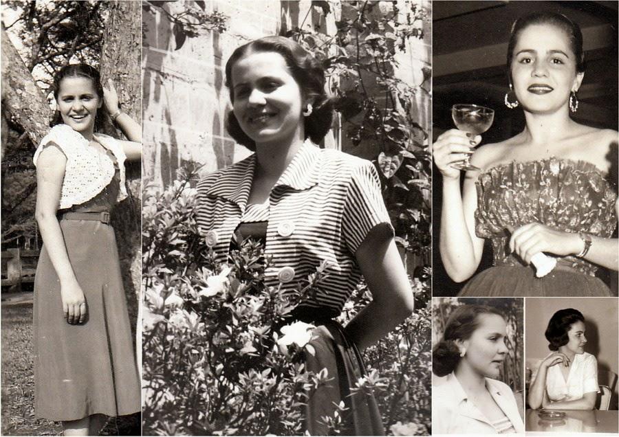 Las Chicas del Acetato en Colombia, 1965. Melva Peláez Ossa, Vda de Vernaza.