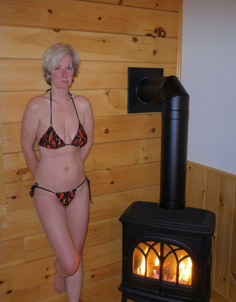 Hot Home Improvement Wood Burning Stove