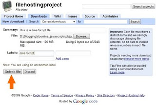 cara membuat hosting sendiri untuk upload kode javascript