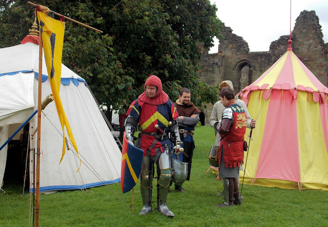 living history medieval knights reenactment