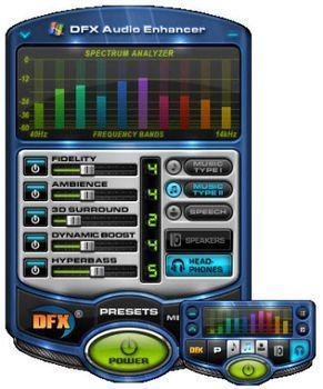 DFX audio enhancer [Planet Free]